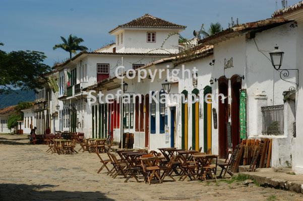 Koloniale Häuserfront in Paraty