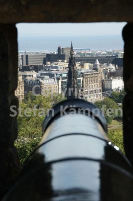 Feuer frei auf Edinburgh