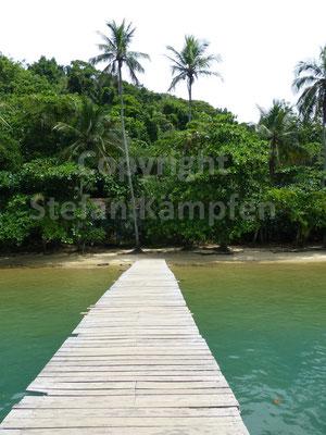 Der Steg ins Paradies auf der Ilha Grande
