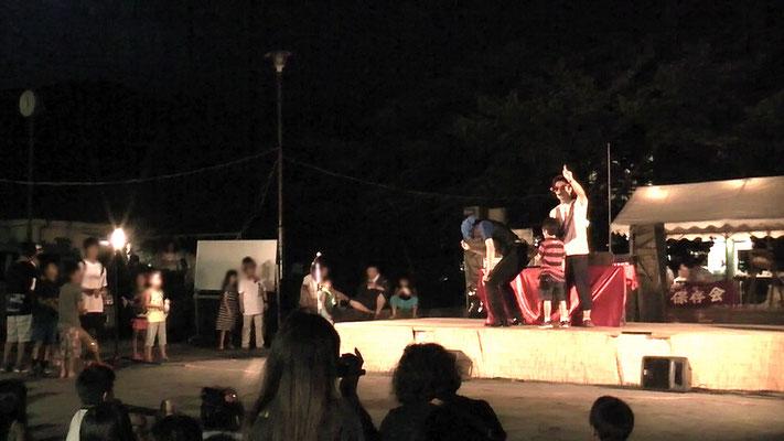 神奈川県湯河原市にて夏祭りイベント
