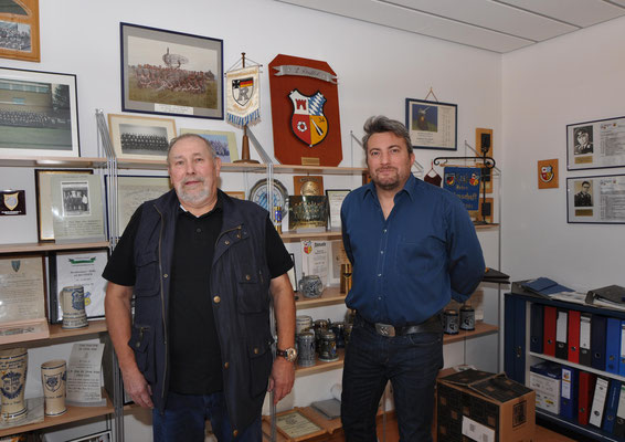 Peter mit Herrn Gengnagel von der LZ...
