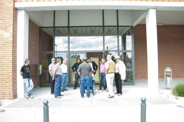 auch andere Gebäude wurden besichtigt, wie z.B. die Kfz-Zulassungsstelle...