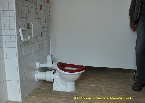 und winzige Toiletten...