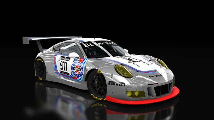 Porsche 911 GT3 R 2016 Martini RSR Style