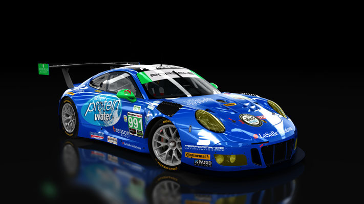 WeatherTech SportsCar Championship 911 GT3R TRG-AMR #991