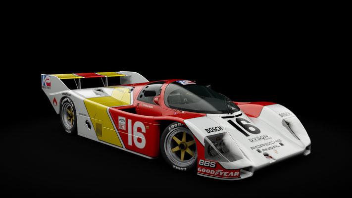 Porsche 962c Shorttail - Dyson Racing - IMSA 1985