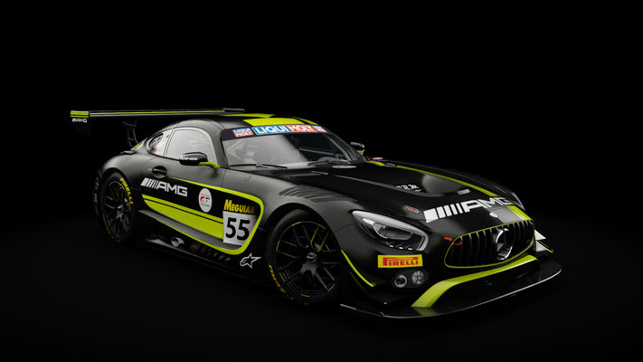 Mercedes AMG GT3 Strakka Racing 2018 Bathurst 12h