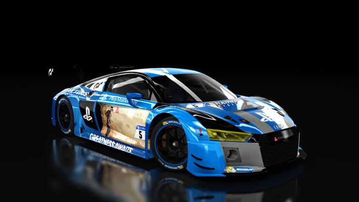 Audi R8 LMS 2016 - Playstation GT Farpoint Team