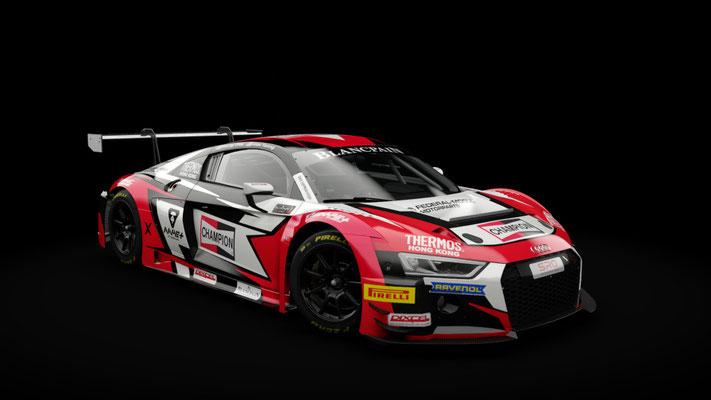 Audi R8 LMS - Blancpain GT Asia 2018 - Phoenix Racing Asia #5
