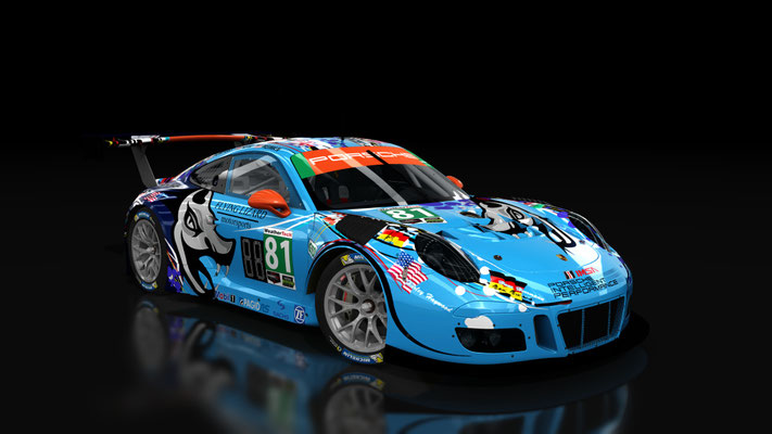 20XX Flying Lizard Porsche 911 IMSA GTD