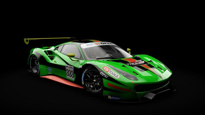 Ferrari 488 GT3 Rinaldi Racing #333