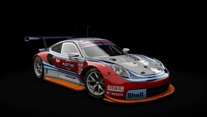 Porsche RSR Martini Livery