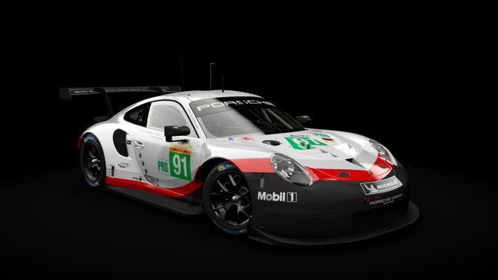 Porsche 911 RSR - WEC 2018 - 4K Team Skins