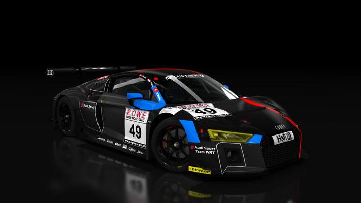 Audi R8 LMS 2017 Team WRT Carbon skin