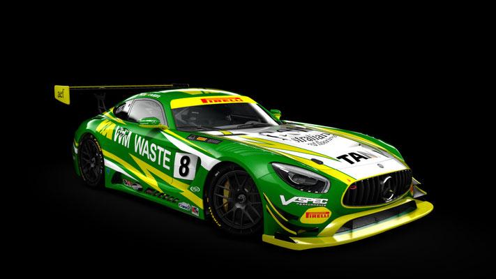 Scott Taylor Motorsport - AMG GT3