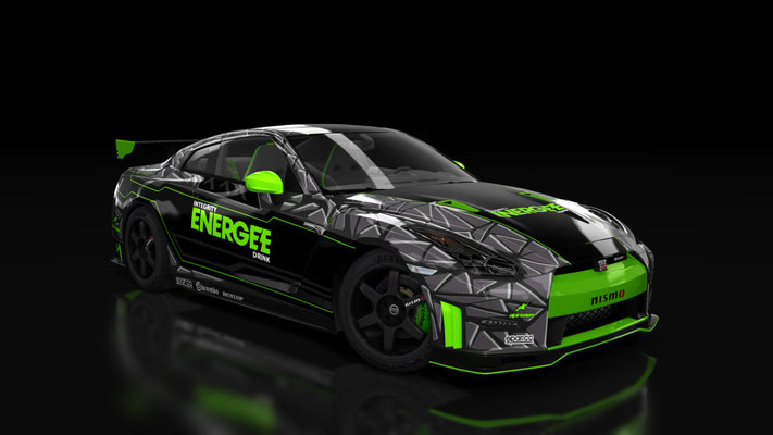 Custom Nissan GT-R NISMO ENERGEE Drink