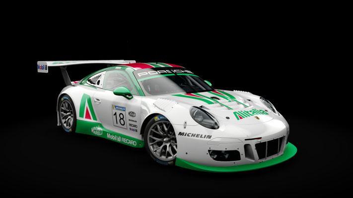 Porsche 911 GT3 R 2016 Alitalia