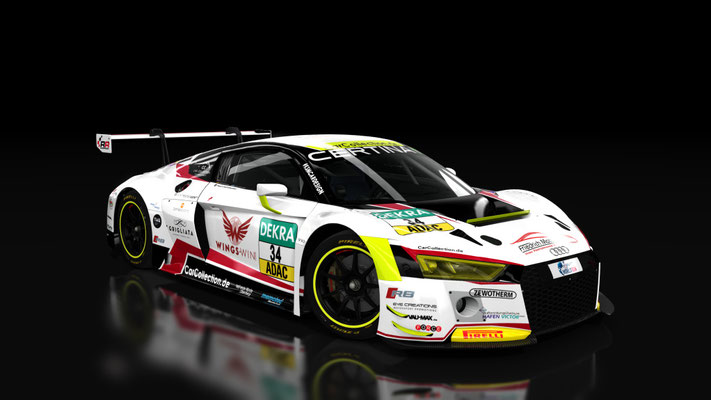 Audi R8 LMS - Car Collection #34 (white) ADAC GT Masters 2016