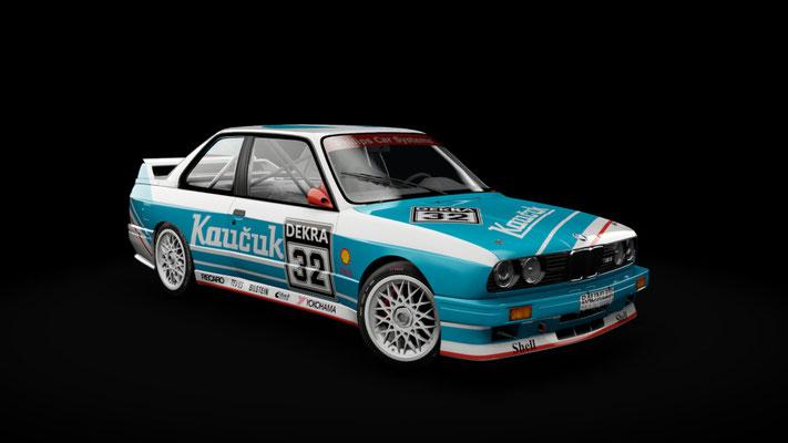 BMW M3 E30 Gr.A 92 - Kaucuk Racing Team #32