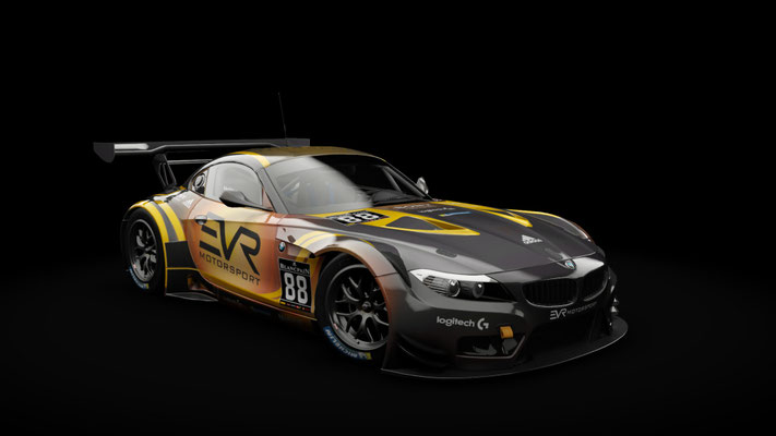 BMW Z4 GT3 - EVR Motorsport #88