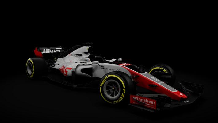 Haas VF-18 - RSS Formula Hybrid