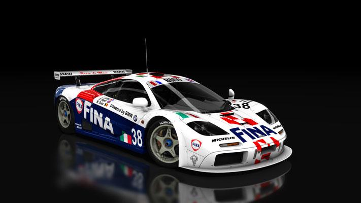 McLaren F1GTR FINA TEAM BIGAZZI Le Mans 1996