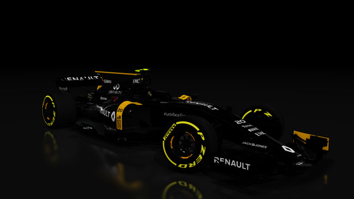 F1 Renault Sport R.S.16 & Launch Livery