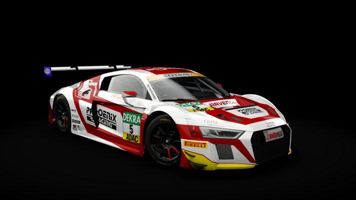 Phoenix Racing Team ADAC GT Masters 2018