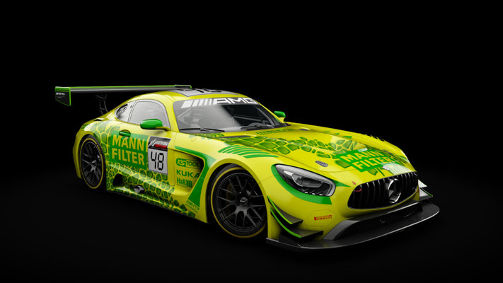 Mann Filter AMG GT3 Artcar (fictional)