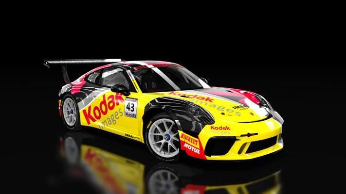 Porsche 911 GT3 Cup 2017 Skinpack 2