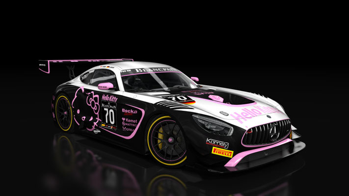 Kornely Motorsport Hello Kitty AMG GT3