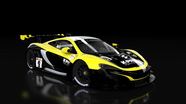 McLaren 650S GT3 K-Pax Racing 12hrs Sepang