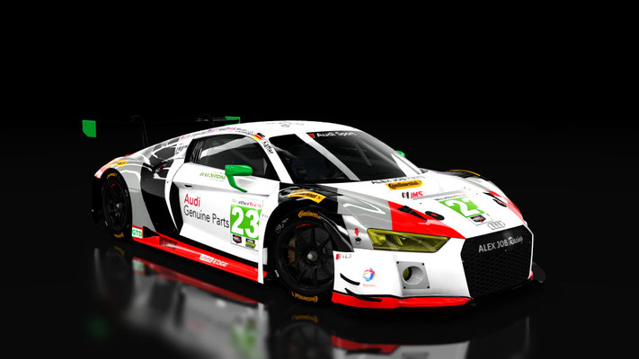 Alex Job Racing 24h Daytona 2017 Audi R8 LMS 2016