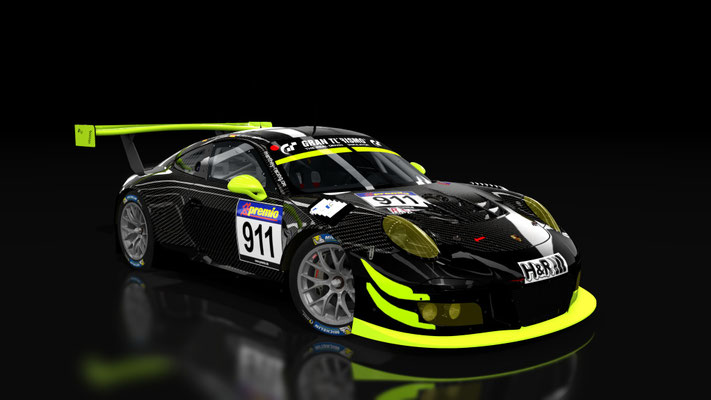 Porsche 911 GT3R Manthey Racing VLN 5 2016 No.911