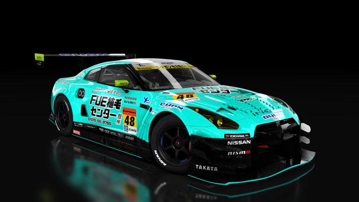 Nissan GT-R GT3 - Super GT 2017: Dijon Racing / shokumou.jp GT-R #48
