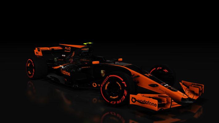 RSS Formula Hybrid Mclaren-Porsche