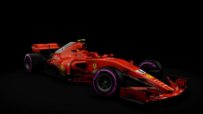 Formula Hybrid   Ferrari SF71H 2018
