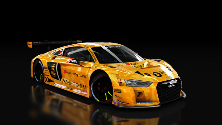 AUDI R8 LMS 2016 - Phoenix Racing Asia 'AAPE BY A BATHING APE'