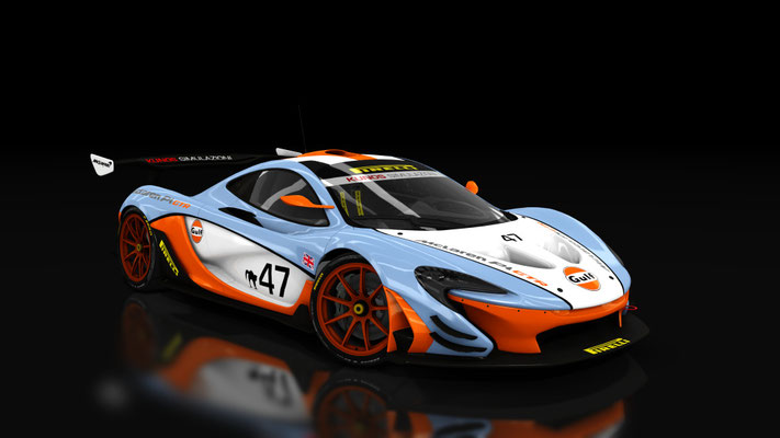 KS McLaren P1 GTR - Gulf Racing