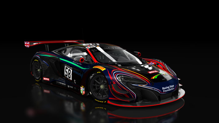(Fictional) 2017 No.58 Strakka Racing 650S GT3 Livery Competition Entry