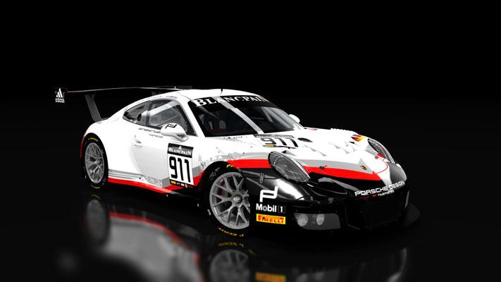 Porsche 911 gt3r 2016 Fictional Blancpain gt series
