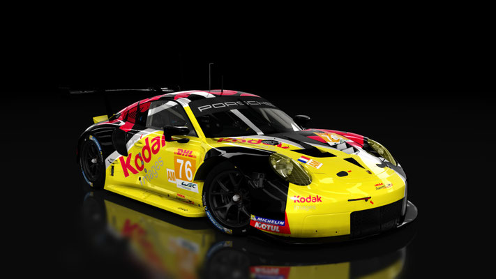 Fictionnal skin IMSA Perform WEC #76