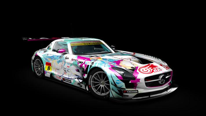 2015 GSR Miku SLS GT3