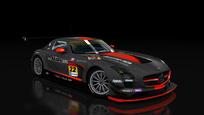 Super GT 2017: R'Qs SLS AMG GT3 #22