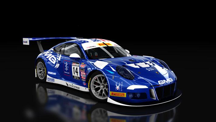 Porsche 911 GT3R GMG Racing
