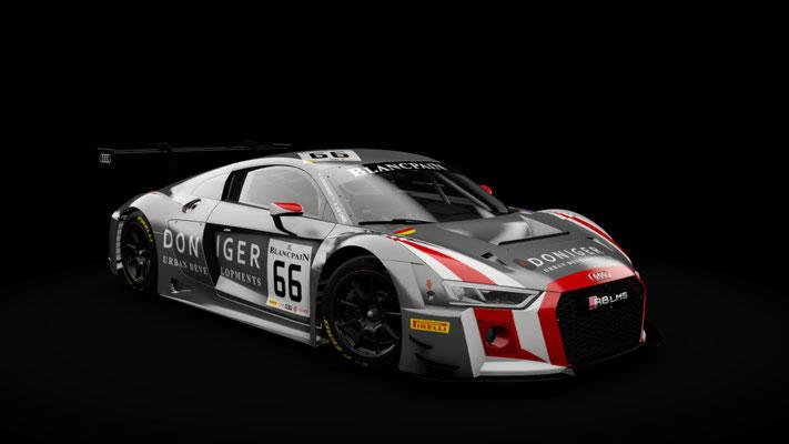 Blancpain GT 2018 - Attempto Racing Skinpack