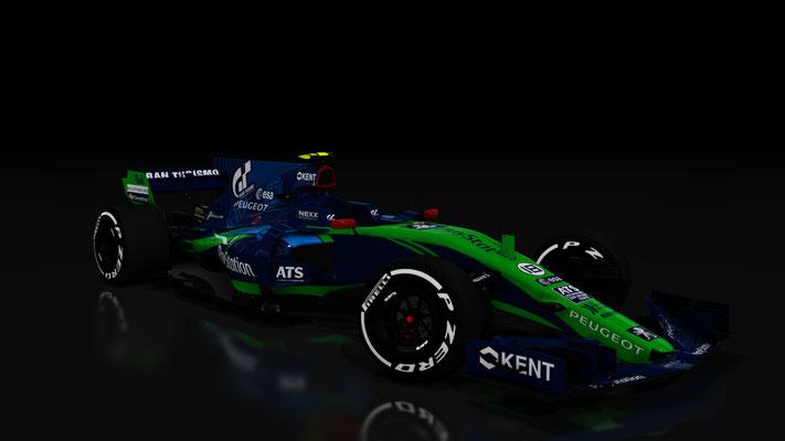 Pescarolo Sport Formula 1 Livery Concept