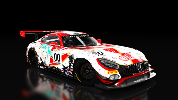 2017 Goodsmile Racing AMG GT3 Spa 24H