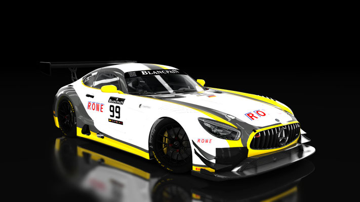 [Fictional] Mercedes AMG GT3 Rowe Racing
