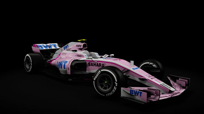 RSS Formula Hybrid Force India 2018